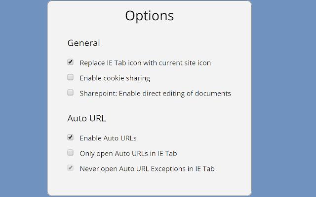 IE Tab - Chrome Web Store