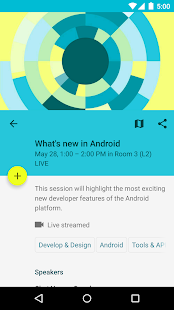 Google I/O 2015- screenshot thumbnail