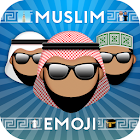 Muslim Emoji Messaging App icon