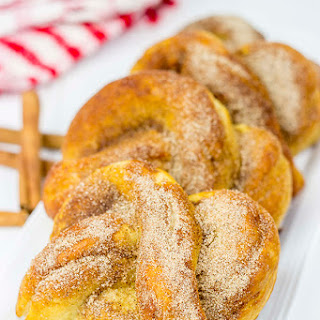 Cinnamon Sugar Soft Pretzels.