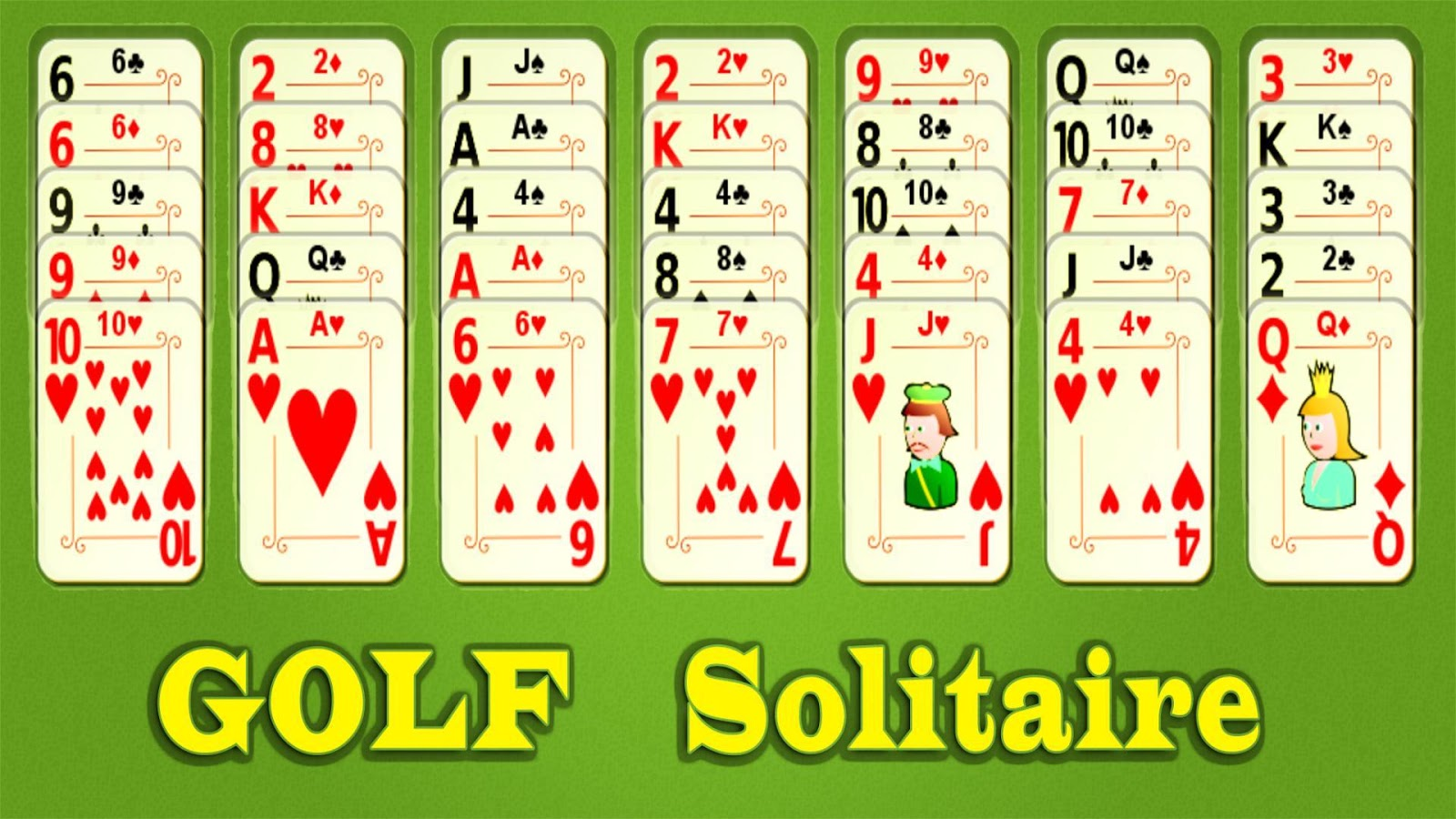 Golf Solitaire Mobile- screenshot