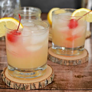 A Classic Whiskey Sour.