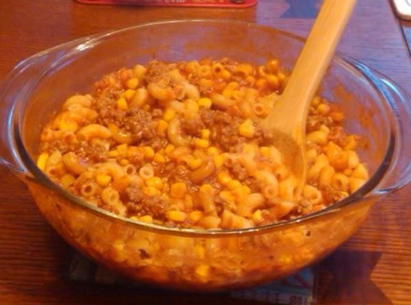 One Dish Macaroni Beef Recipe