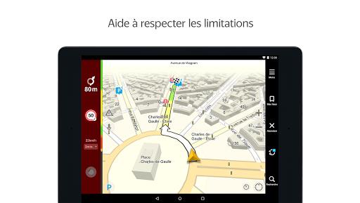 Yandex.Navi - Île-de-France screenshot 8