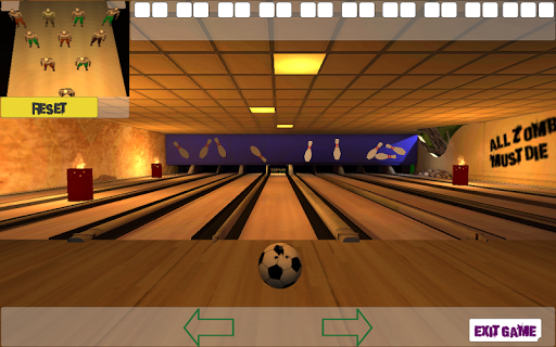 10 Zombie Bowling screenshots 1