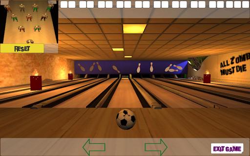 10 Zombie Bowling screenshots 1