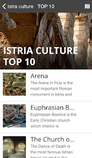 Istria Culture Top 100- screenshot thumbnail