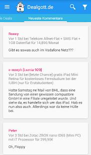 Dealgott - Schnäppchen App - screenshot thumbnail