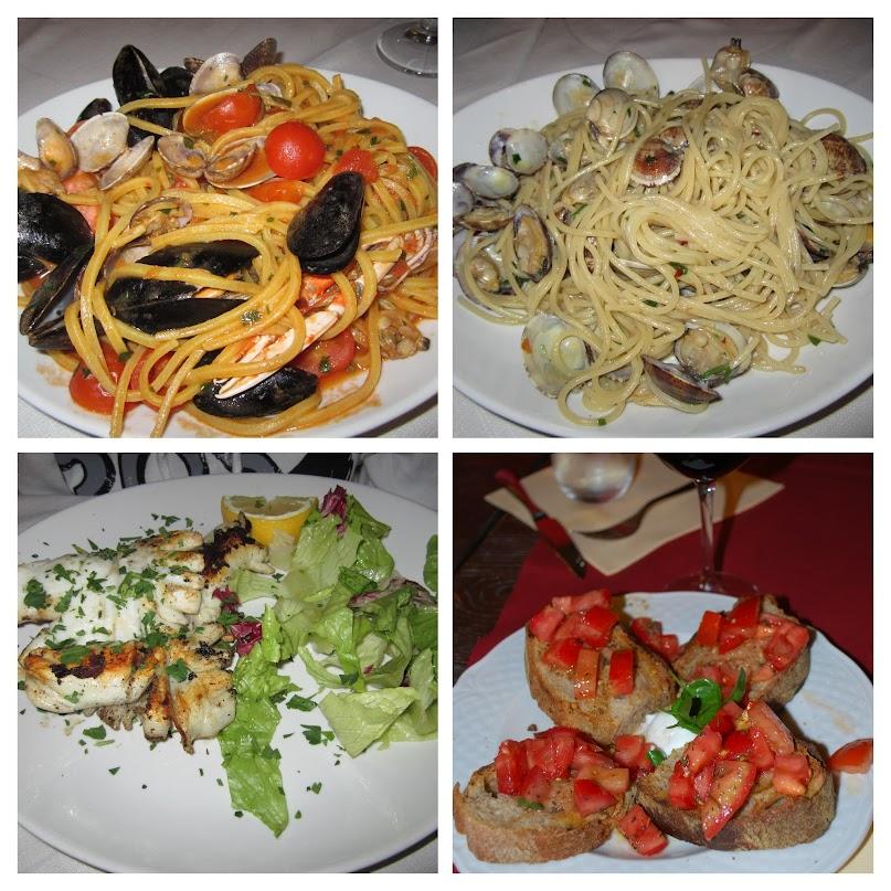 Italian dishes, Rome