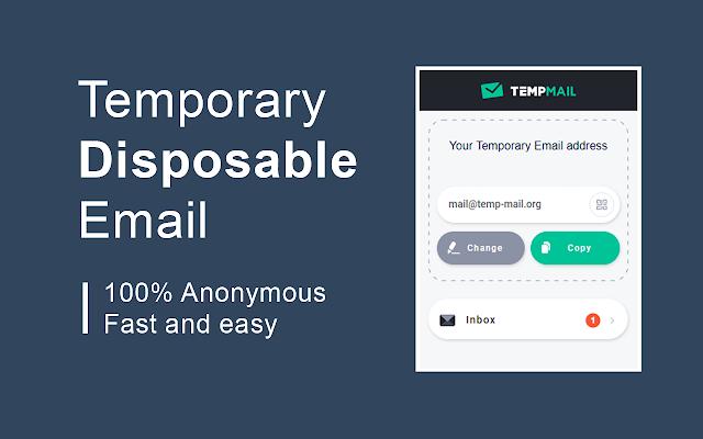 Temp Mail Chrome Extension