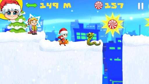 Foto do Baby Santa Claus Christmas Run