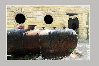 Photo: Bacalan - art métallique aux Vivres de la marine