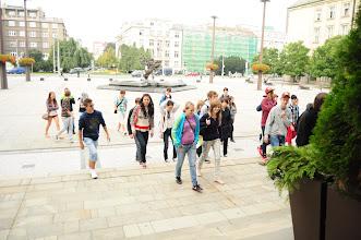 Photo: 1. den (středa 5. září) - výklad o historii a současnosti města Ostravy spojený s procházkou v centru Ostravy. Autor fotografií: Dan Vrána ze třídy 2. A.
