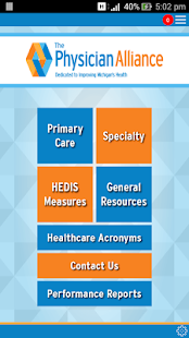 The Physician Alliance Edu App- screenshot thumbnail
