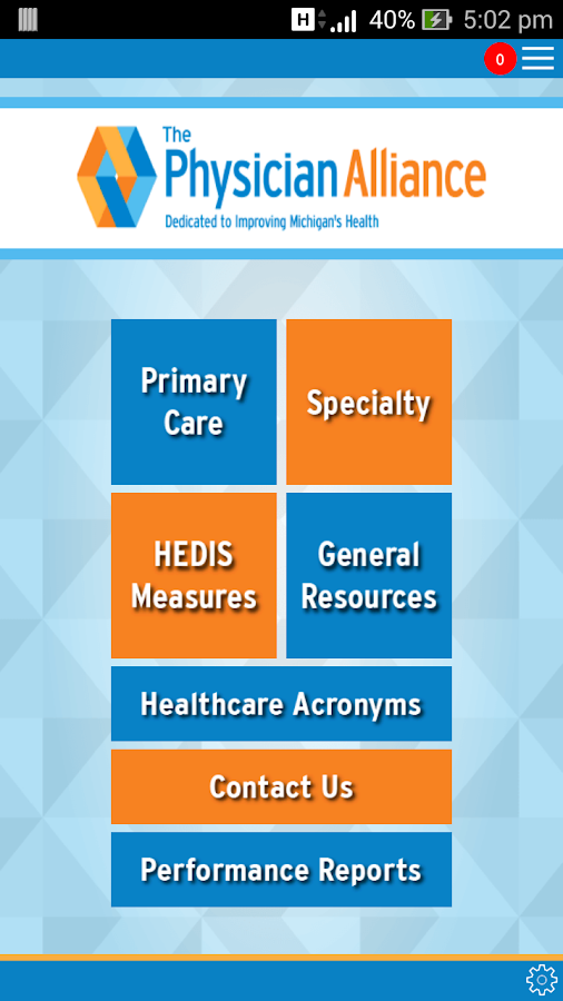 The Physician Alliance Edu App- screenshot