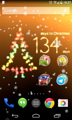 Christmas Countdown premium - screenshot