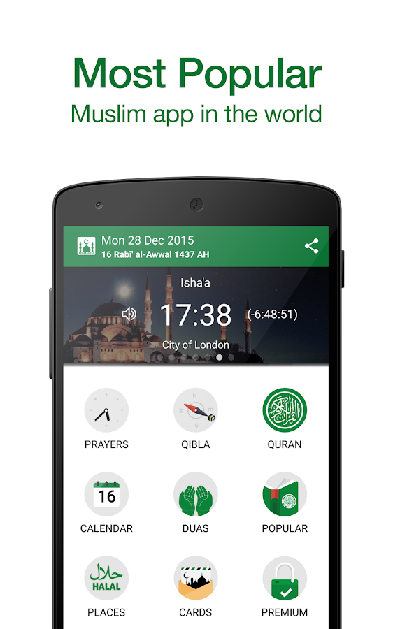 Muslim Pro: Prayer Times Quran- screenshot