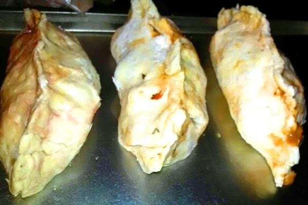 Cut a couple of tiny slits in each pasty , and optionally but recommended,...