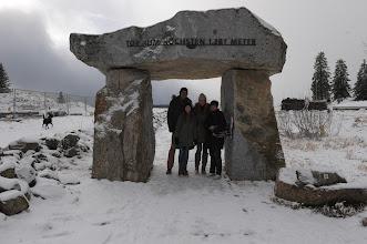 Photo: auf dem Feldberg Laura,Elisabeth und Gerald
