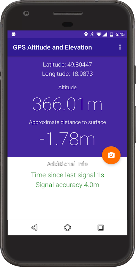 My Altitude And Evaluation GPS Android Apps On Google Play - Get elevation from latitude longitude