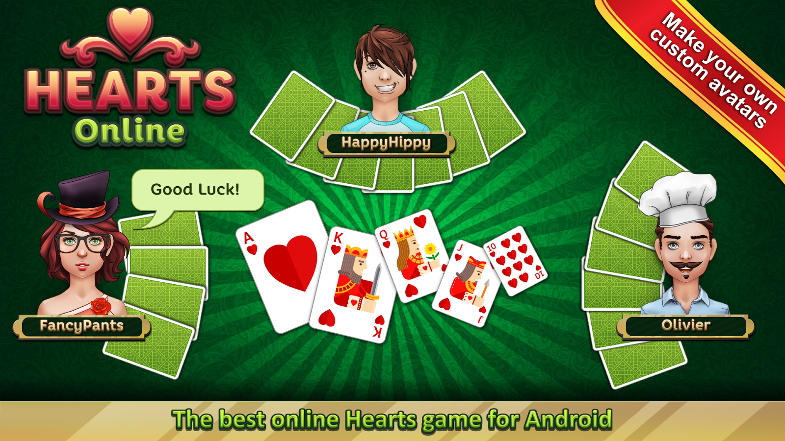 play hearts game online