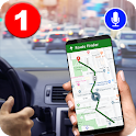 GPS Navigation Route Finder – Map & Speedometer icon