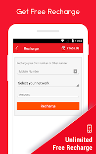 Earn Free Recharge CashNinja- screenshot thumbnail
