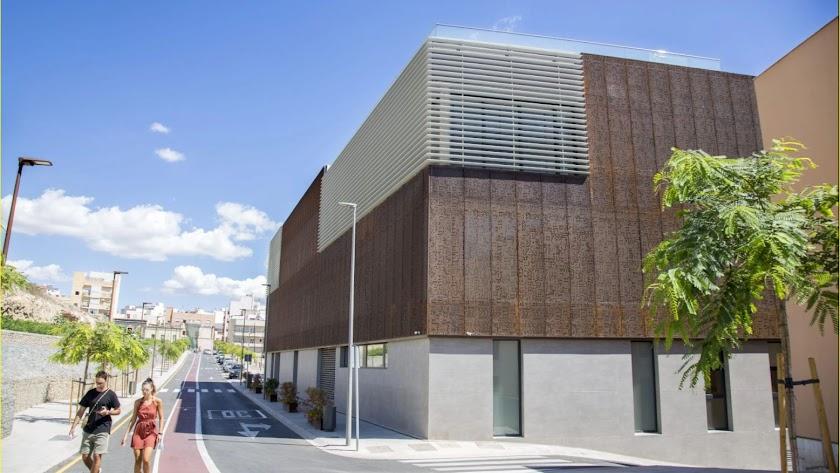 Edificio de la gerencia de Urbanismo en Almería.
