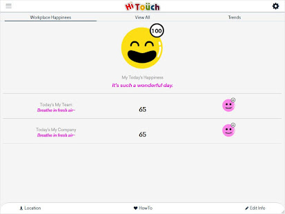 App HiTouch : Happiness Index APK for Windows Phone