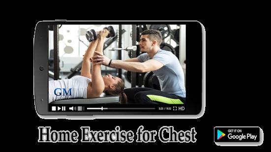 Home Exercise for Chest - náhled