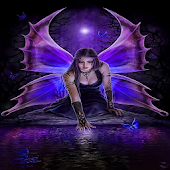 Gothic Fairy Live Wallpaper
