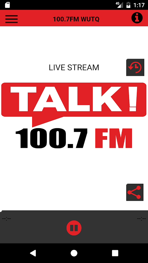 Talk 100.7FM- screenshot