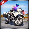 Police Motorbike Game : Bike Racing Games icon