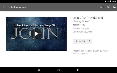 Calvary Chapel Fellowship- screenshot thumbnail