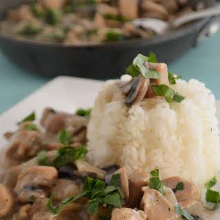 Skinny Chicken Mushroom Casserole.