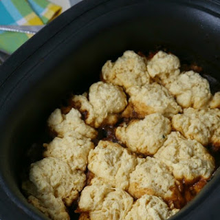 Slow Cooker Beef Stew With Biscuit Dumplings