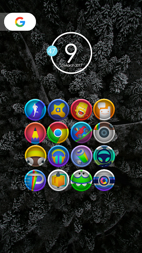Morine - Icon Pack Apps voor Android screenshot