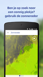 Buienradar- screenshot thumbnail