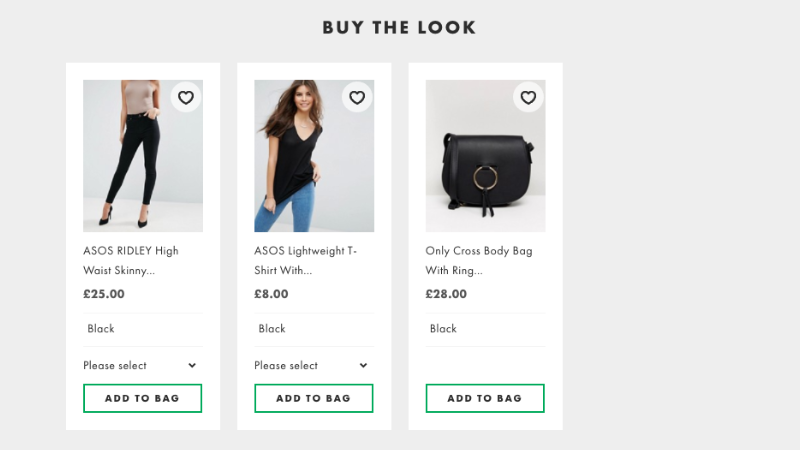 Example of how you can bundle items together for personalizing recommendations for an online customer