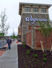 Photo: My sidewalk has finally reopened after two years. I hope Wegmans uses those windows like Bloomingdales or Macy's in New York. Would be so much fun.