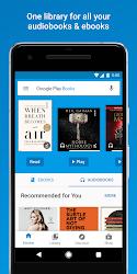 Google Play Books - Ebooks, Audiobooks, and Comics