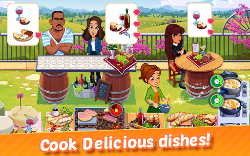 Delicious World - Romantic Cooking Game 1.9.0 screenshots 4