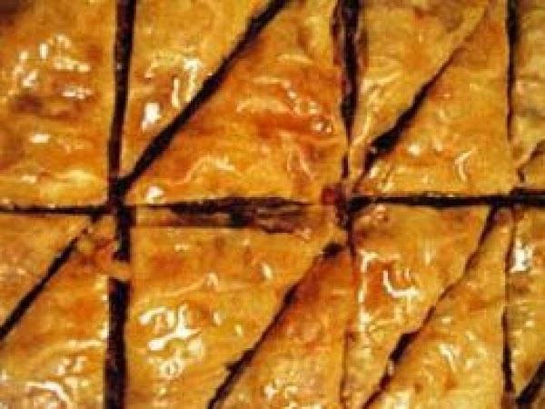 Nut Free Baklava Recipe