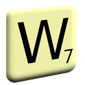 7 letters for 1 word (previously My Word Game) icon