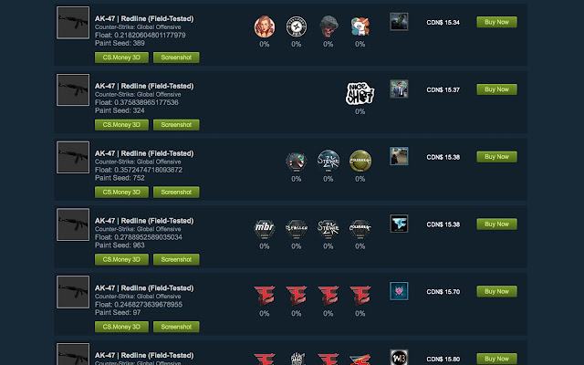counter strike market