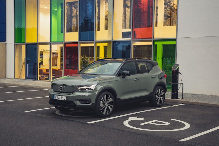 Volvo SA will start taking customer orders for the XC40 Recharge in April 2021.