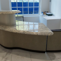cheap reception desk