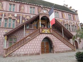 Photo: 1. den - Francie nás přivítala vyprázdněnými ulicemi Mylhúz (Ancien Hôtel de Ville, Mulhouse, Francie)