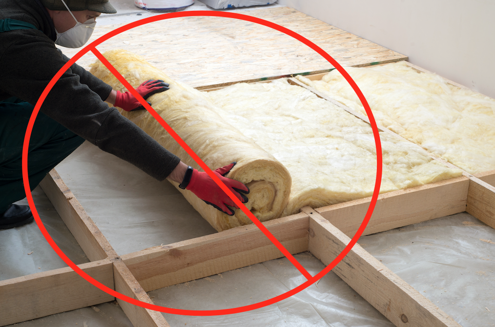 Do Not insulate your garage floor if you live in cold climates