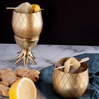 Ginger Lemon Mocktail Recipes.